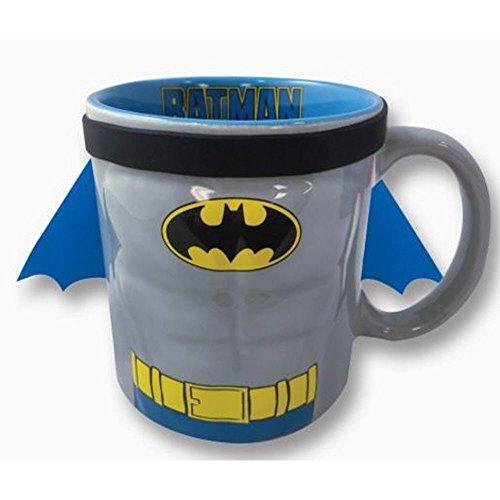 ICUP 7573 DC Batman Molded Caped Mug, Multicolor