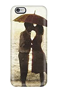 New Arrival Loving Couple Kiss Drawing XQzfCPM7556TmXUm Case Cover/ 6 Plus Iphone Case