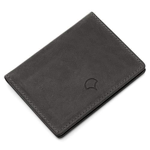 4 Poche Rfid Anthracite Porte Blocage Gris Noir 03 Véritable 1 Portefeuille cartes Cuir Poches Fenêtre À Atara 7XaqxH8xw