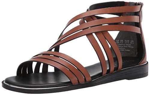 Franco Sarto Women's GAETANA Slide Sandal Light Brown 8.5 M US