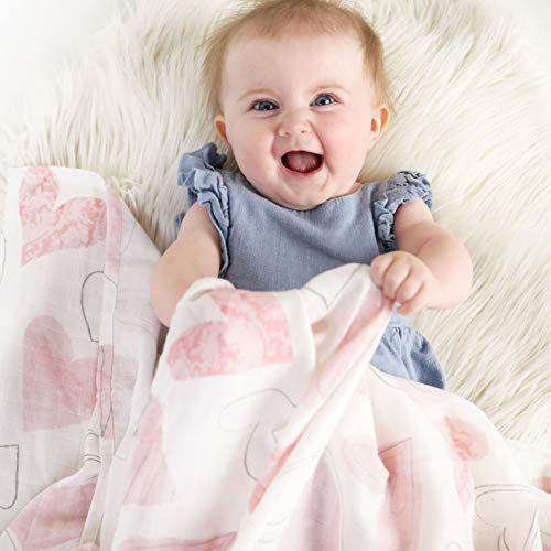 Muslin Swaddle Blankets, 3 Pack Large 47x47in Baby Blanket, Mystical