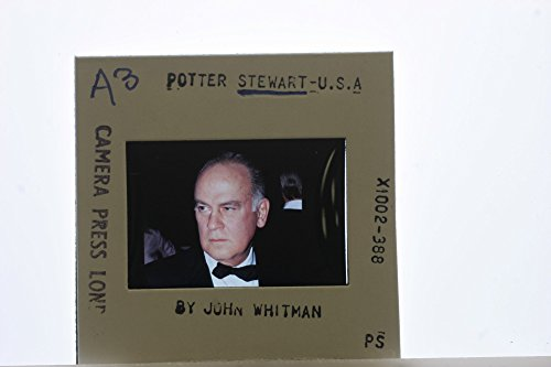 Slides photo of Portrait of Potter Stewart wearing formal wear. - Portrait Potter