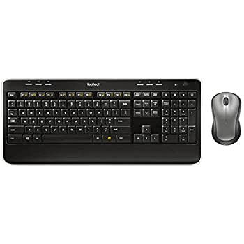 Logitech Mk520 Wireless Keyboard & Mouse Combo — Keyboard & Mouse, Long Battery Life, Secure 2.4ghz Connectivity 1