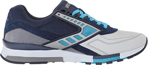 Blu Peacoat Brooks cyanblue Uomo Sneaker navy ZFqwqWYHOz