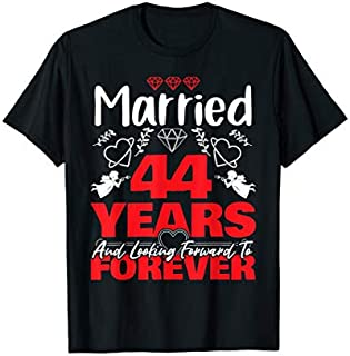 [Featured] Husband, Wife gift Married 44 years ago Marriage anniversary in ALL styles | Size S - 5XL