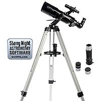 Celestron PowerSeeker 80AZS Telescope (Black)