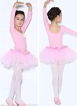 EEELLLDDD Calzamaglia Danza Classica Palestra Tutu Piccolo 90-135 Ragazza Alta Bambino