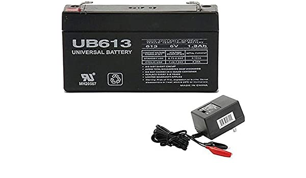 Mighty Max Battery 6V 1.3Ah Battery Replacement for GE Simon XT III V3 Alarm Brand Product