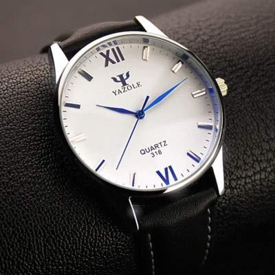 Grass 135 yazole Blue Glass Wrist Watch Men Watch Fashion men39;s Watch Waterproof Mens