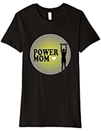 Womens Power Mom Mothers' Day Tee, a great gift for Mom