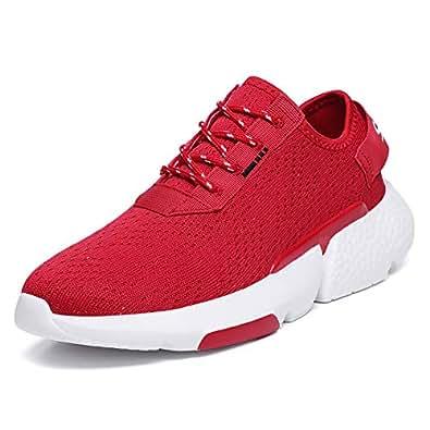 Asifn Mens Cross-Country-Running,Cross-Trainers,Trail-Running,Triathalon-Multi-Sport Red Size: 12 Women/11 Men
