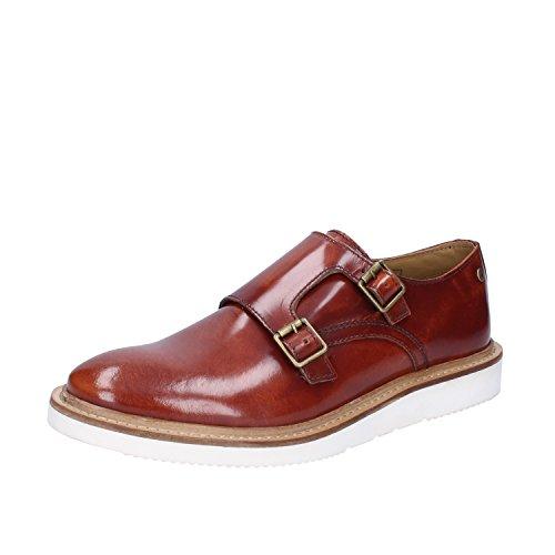 Base London - Zapatos de cordones de Piel para hombre Marrón marrón
