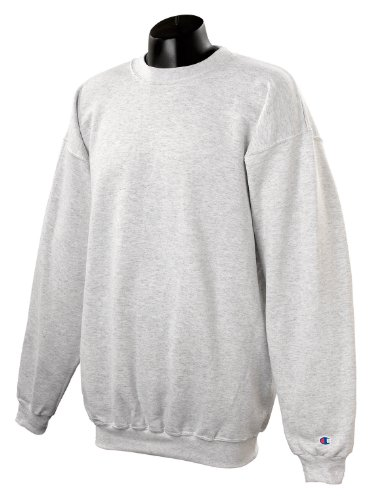 Champion Adult 50/50 Crewneck Sweatshirt, Ash - Size 3X-Large