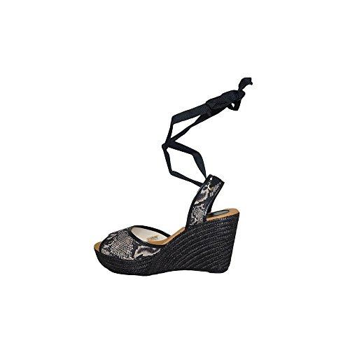 Piel PRIMARSHOES Cuerda 2018 para Confort Tobillo Mujer PS120 Casuales Mujer Cu C Verano a Leopardo Moda Sandalia 8qT8prt