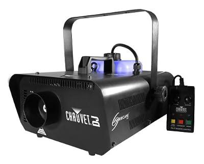 Chauvet Hurricane H1302 Fog/Smoke Machine + FC-W Wireless Remote + FJU Fog Fluid from Chauvet