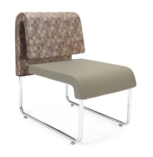 Ofm Ganging Bracket (OFM Uno Series Lounge Chair, Copper/Taupe)