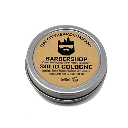 OakCityBeardCo. - BarberShop - Men's Solid Cologne - 1oz