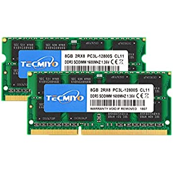 16GB 4x4GB Memory PC3L-12800 SODIMM For Laptop DDR3L-1600 RAM