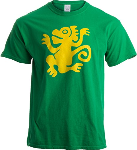 Legends of The Hidden Temple Tribute | 90s Halloween Team Costume Unisex T-Shirt-L-Green -