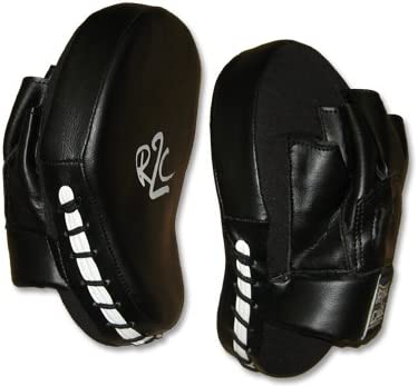 r2 C Curved Punch Mitts for Muay Thai , MMA , Kickboxing、ボクシング、Krav Maga