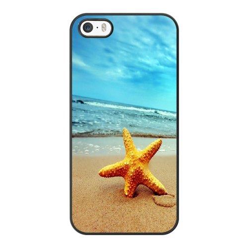 Coque,Coque iphone 5 5S SE Case Coque, Beach Wallpaper Cover For Coque iphone 5 5S SE Cell Phone Case Cover Noir