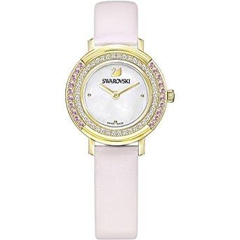 Montres Swarovski Playful Mini Montre Femme Bracelet en Cuir Watch 5261462