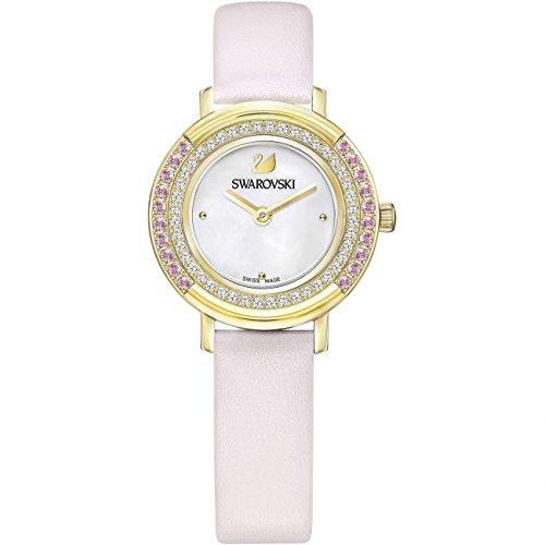 Relojes Swarovski Reloj mujer Playful Mini correa de piel watch 5261462: Amazon.es: Relojes