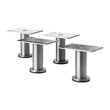 8 cm stainless steel // 4 pack // 4 pack Leg Ikea CAPITA