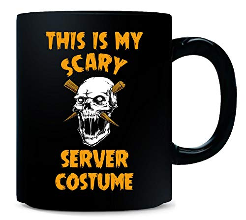 This Is My Scary Server Costume Halloween Gift - Mug