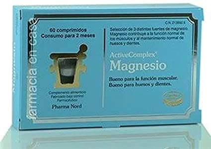 Activecomplex Magnesio 60 comprimidos de Pharma Nord: Amazon.es ...