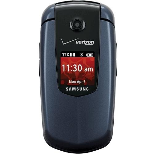 Samsung Smooth Verizon Wireless Prepaid Mobile Cell Camera Phone - Tty Telephone Att