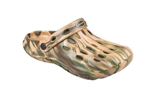AQUA-SPEED hombres zapatillas/Zuecos - Muy fácil Islaii 476-06 (beige/verde, 39) beige/verde