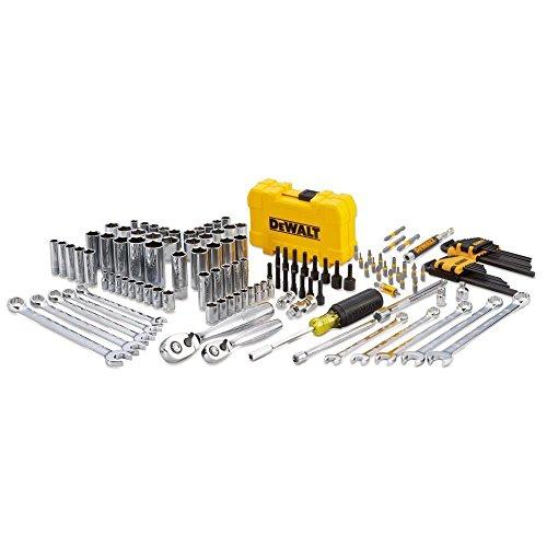 DEWALT Mechanics Tools Kit and Socket Set, 142-Piece (DWMT73802)
