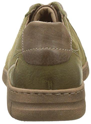 Steffi Seibel Josef Mujer de 869631 para Zapatos 41 Olive Combi Derby Cordones Verde T54d4wq