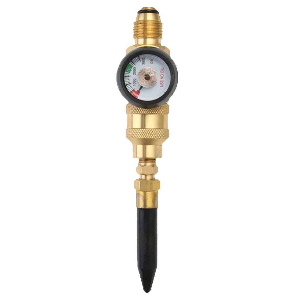 SM SunniMix Filler Regulator for Balloons Helium Tank Regulator w//Sintered Bronze Filter /& High Quality Brass