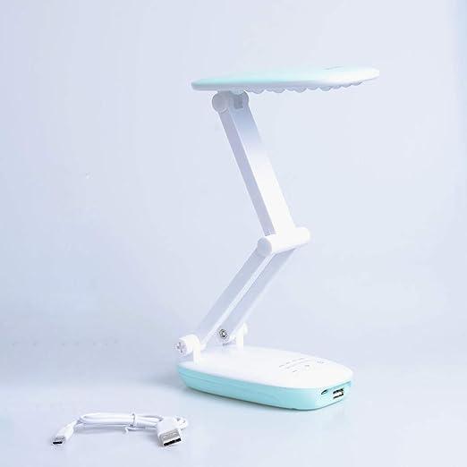 Branddb Lámpara de Mesa con batería portátil de LED ...