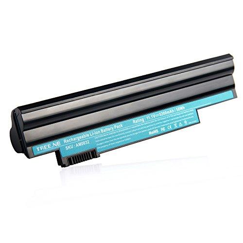 AL10A31 AL10B31 Battery for ACER Aspire One 522 AO522 AOD255 AOD255E AOD260 D255 D260 722 d257 P0VE6 PAV70 NAV70 D255E Gateway LT23 LT25 - 24 Months - Acer Netbook Battery