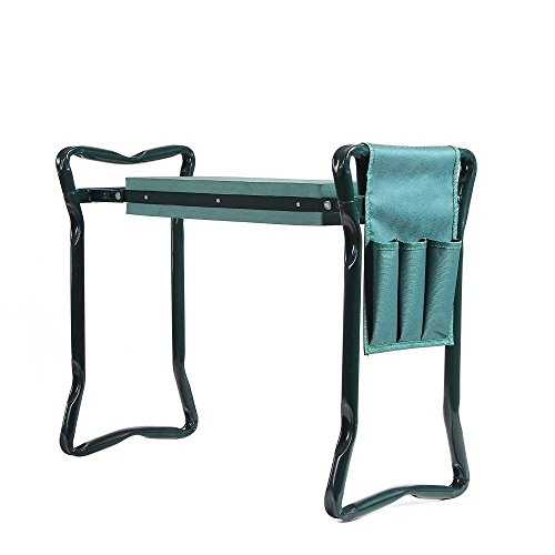 Ohuhu Garden Kneeler and Seat with Bonus Tool Pouch