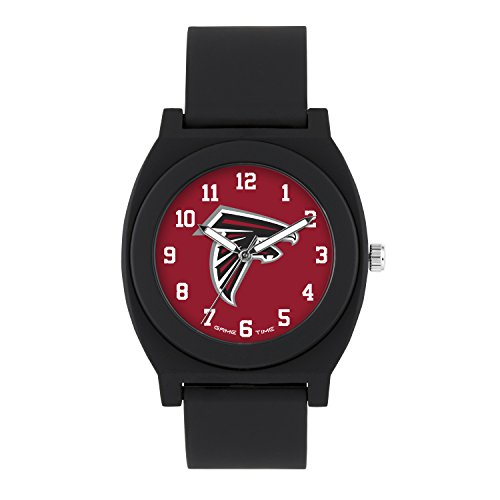 NFL Atlanta Falcons Mens Fan Series Wrist Watch, Black, One Size