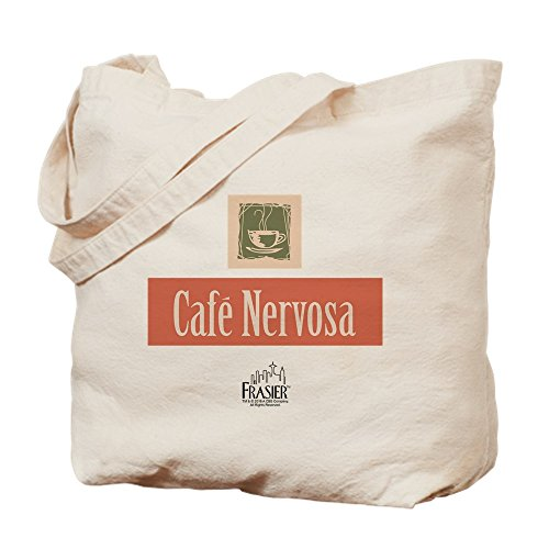 Cloth Nervosa Frasier CafePress Bag Cafe Natural Shopping Canvas Bag Tote 0qdwOdE