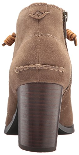 Dasher Sider Boot Sperry Gale Top Women's Taupe Ankle tfn5wOq5