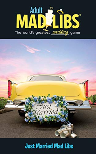 Just Married Mad Libs