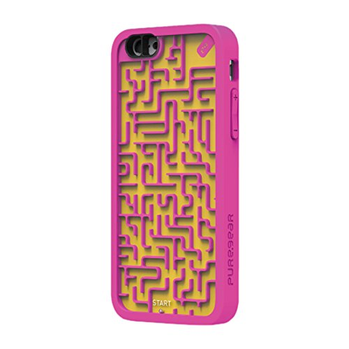 PureGear Amazing Case for iPhone 6s/6 - Pink/Yellow