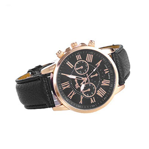 Three Fake Eye Watches Double Level Diamond Watch Fashion Watches for Women Double-Layer Roman Quartz Watch: Amazon.es: Relojes