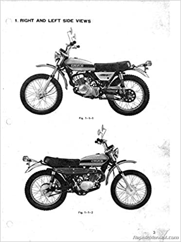 Suz S Ts185 1971 1976 Suzuki Ts185 Sierra Supplemental Motorcycle Service Manual By Author Amazon Com Books