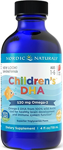 - Nordic Naturals CLO Children's DHA, 4-Ounce