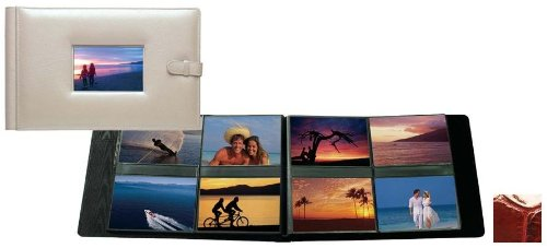 Raika NI 177 RED 4in. x 6in. Frame Album with 8 Photo - Red