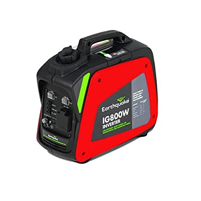 Earthquake 11613, 700 Running Watts/800 Starting Watts, Gas Powered Portable Inverter