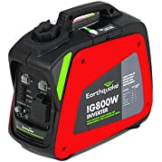 Earthquake 11613, 700 Running Watts/800 Starting Watts, Gas Powered Portable Inverter, CARB Compliant