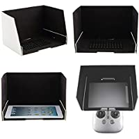 OLD TEUCER 9.7 Inch FPV Monitor Sunshade Sun Hood for Tablet iPad DJI Inspire 1 Phantom 3
